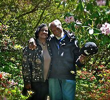 The Mussingtons - Kinney's Azalea Garden - Portrait - Kingston, Rhode Island by Jack McCabe