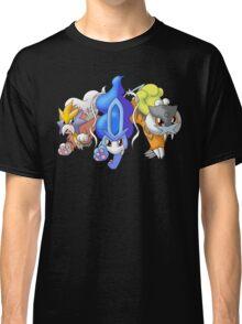 Crowne Beasts- Shiny Entei, Raikou, Suicune Classic T-Shirt