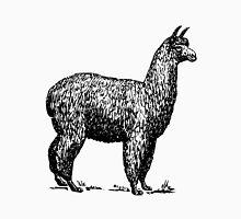 Alpaca Vintage Illustration Unisex T-Shirt