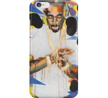 2Pac multicolor iPhone Case/Skin