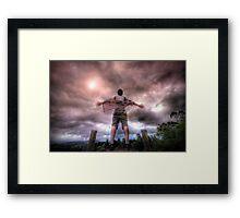 Unleashed Framed Print