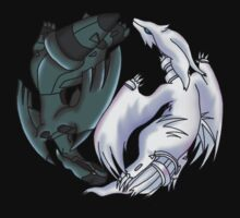 Pokemon YinYang- Reshiram and Zekrom by methuselah