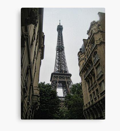 France-Eiffel Tower Canvas Print