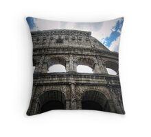 Bella Roma - A Colosseum Throw Pillow