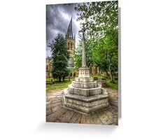 Church Of The Crooked Spire   Greeting Card