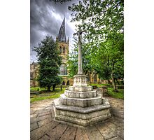 Church Of The Crooked Spire   Photographic Print