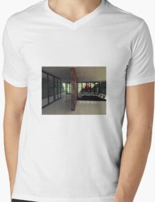 Barcelona Pavilion Mens V-Neck T-Shirt