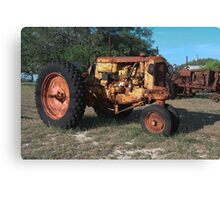 Old Yellow - HDR Canvas Print