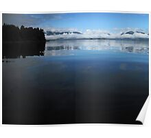 Mercury waters, Broken Group, Pacific Rim National Park, BC Poster