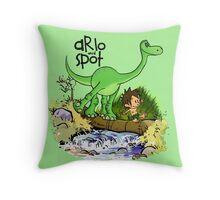 Arlo and Spot  Throw Pillow