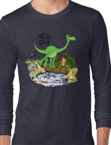 Arlo and Spot  Long Sleeve T-Shirt