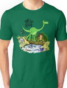 Arlo and Spot  Unisex T-Shirt
