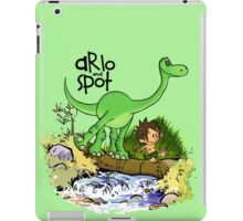 Arlo and Spot  iPad Case/Skin