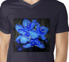 Blue beauties Mens V-Neck T-Shirt