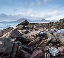 Skye Rocks by Christopher Cullen