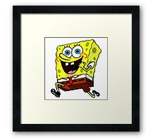 spongebob Framed Print
