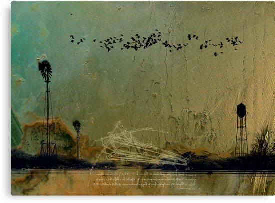 Theory of Flight - Blackbirds by Nicolas  Hall