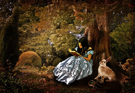 Outside the Rabbit Hole by Erica Yanina Lujan