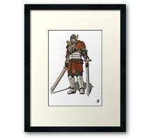 James The Swordsmen Framed Print
