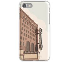 Paramount Theater  iPhone Case/Skin