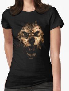 LION RISING Womens Fitted T-Shirt