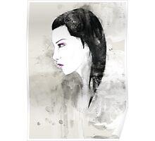 """""""Saturation"""" portrait Poster"""