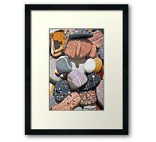 Rock Allsorts Framed Print