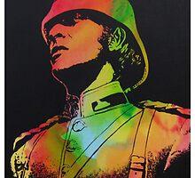 Technicolour Michael Caine by Gary Hogben