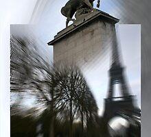 the edge of my eye on Paris by fuatnoor