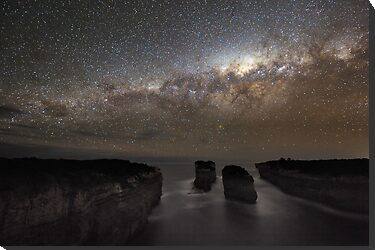 Milky Way Shadow by Alex Cherney