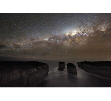 Milky Way Shadow Photographic Print