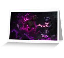 Goth Annie - League of Legends  Greeting Card