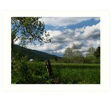 Rural SW Virginia Art Print