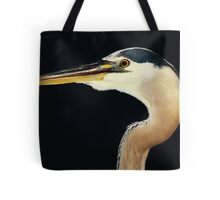 Great Blue Heron at Night Tote Bag