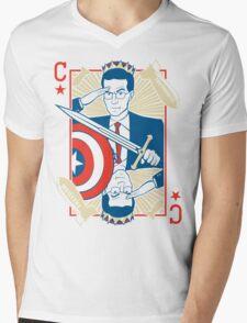 King Colbert Mens V-Neck T-Shirt