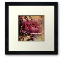 Where The Wild Roses Grow Framed Print