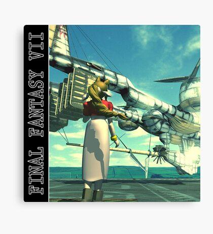 Final Fantasy VII - Aeris / Aerith Canvas Print