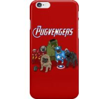 The Pugvengers iPhone Case/Skin
