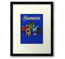 The Pugvengers Framed Print