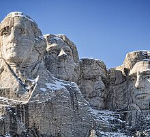 Mount Rushmore Presidents by Tom Davidson