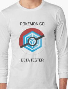 Ingress - Pokemon GO beta tester - V1 Long Sleeve T-Shirt