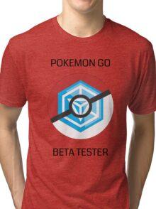 Ingress - Pokemon GO beta tester - V1 Tri-blend T-Shirt