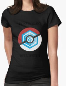 Ingress - Pokemon GO beta tester - V1 Womens Fitted T-Shirt