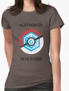 Ingress - Pokemon GO beta tester - V1 Womens Fitted T-Shirt