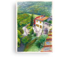 Saint Bertrand Mur (Wall) Canvas Print
