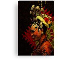 Javanese Bride Canvas Print