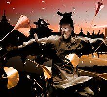 """Wushu series """"Autumn Leaves""""  by Lazius Kaye"""