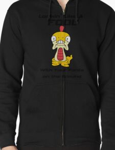 Pokemon- Scraggy- Pants on the Ground Zipped Hoodie