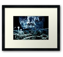 "Wushu series ""Moon"" Framed Print"