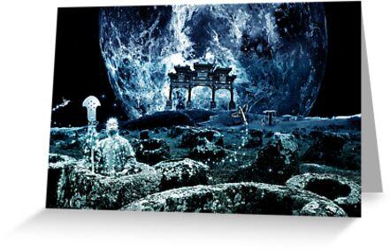 """Wushu series """"Moon"""" by Lazius Kaye"""